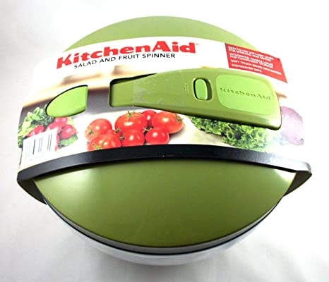 Amazon.com: Kitchenaid Salad and Fruit Spinner - Green ...