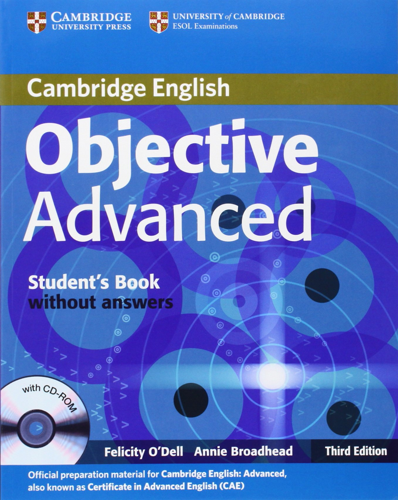 Objective CAE 3rd Students Book without Answers with CD-ROM ...