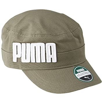 a38415f6d Puma Penham Military Kids 'Cap, Burnt Olive Osfk 052938 03: Amazon ...