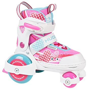 Hudora rollschuhe My First Quad Girl Talla 26 – 33 ajustable
