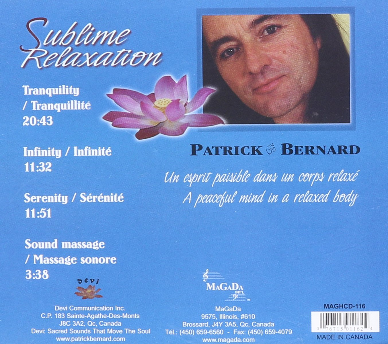 Sublime Relaxation