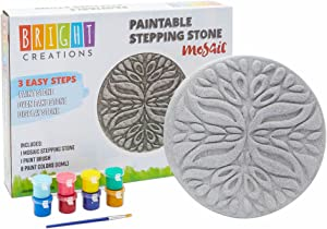 Bright Creations DIY Stepping Stones, Mosaic