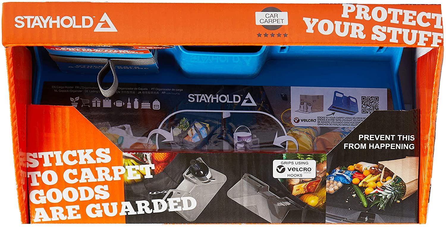 Stayhold Metro Starter Pack Blue 2 x STAYHOLD METRO Cargo Organizers and 4 x Sets of Straps