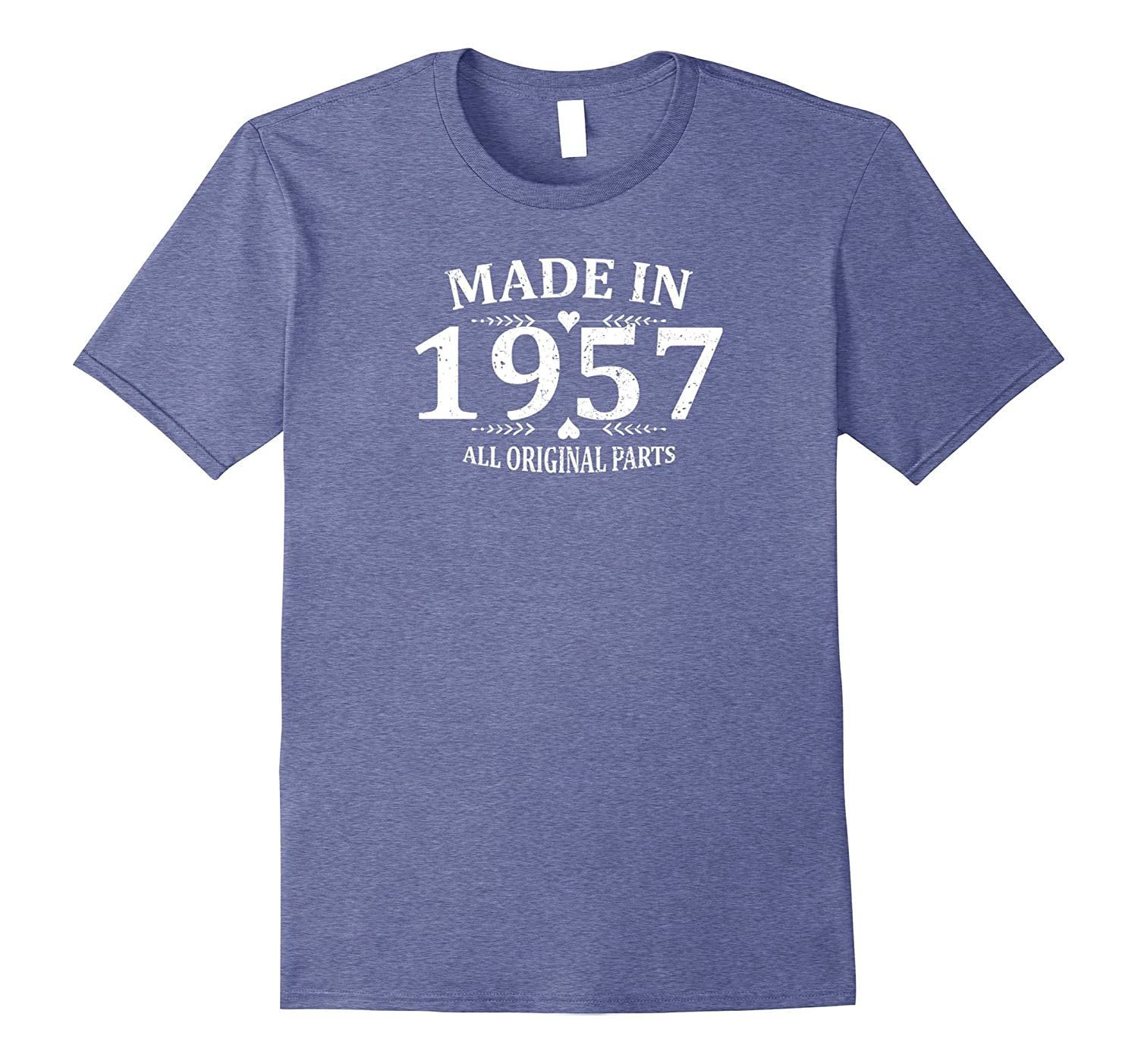 Funny Made In 1957 T Shirt Emoji Vintage 60th Birthday Gift CL