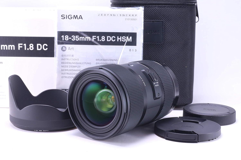 Sigma 18-35mm F/1.8 DC HSM Lens for Canon APS-C DSLRs [並行輸入品]   B01KM6P51A