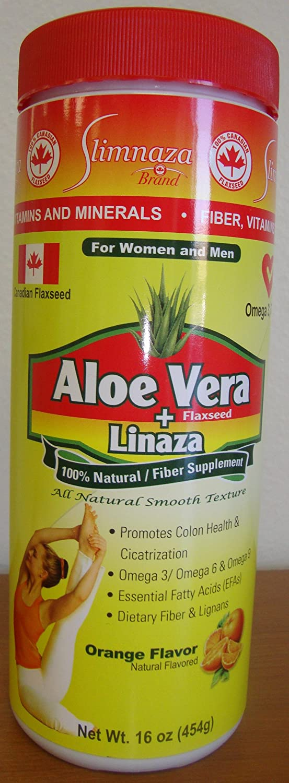 Amazon.com: slimnaza Aloe Vera + Linaza: Health & Personal Care