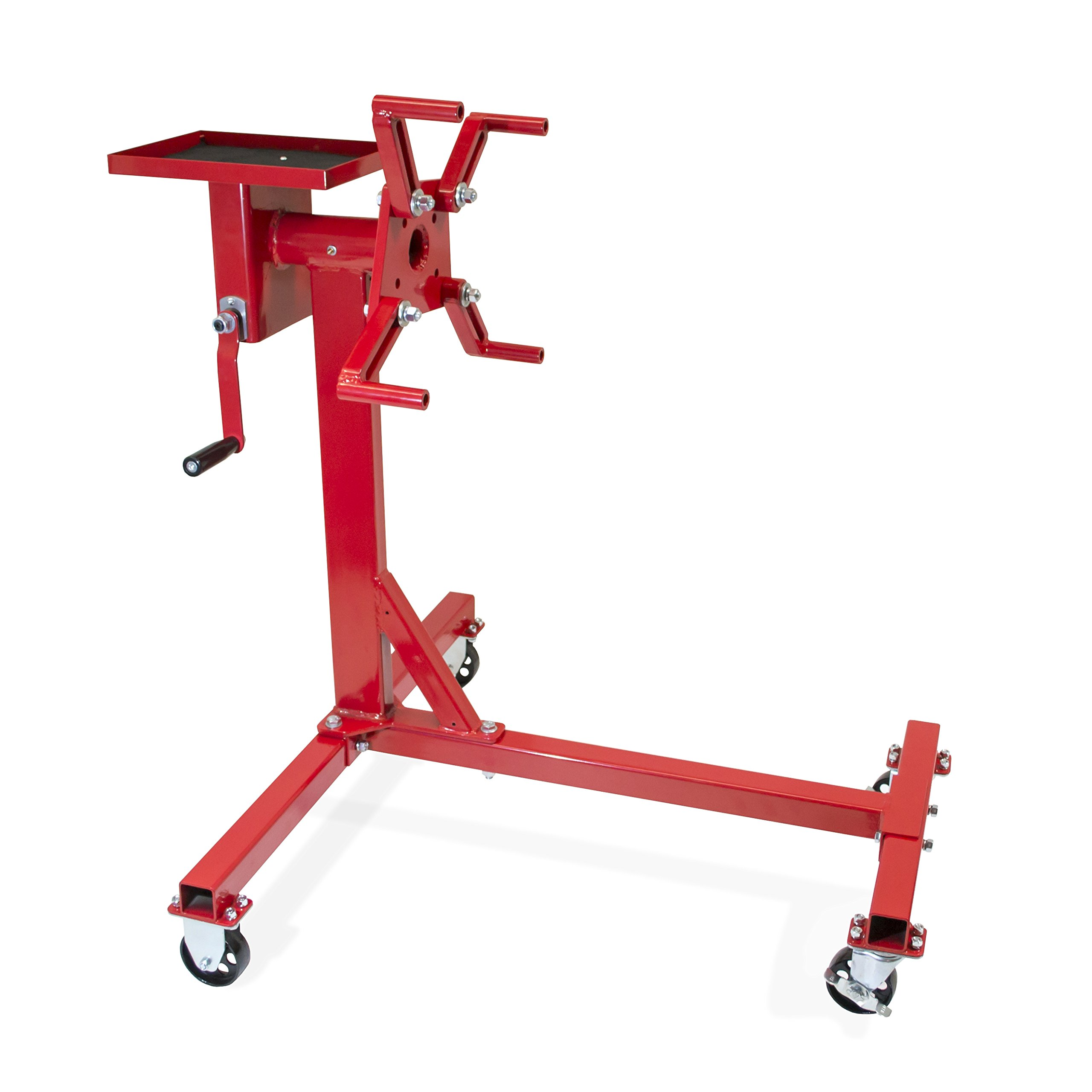 Jackco 1000 lb. Capacity Rotating Engine Stand with Tool Tray