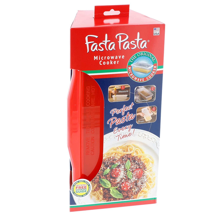 Amazon Fasta Pasta Microwave Pasta Cooker The Original Red