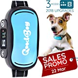 GoodBoy Vibrating Shock Anti-Bark Training Collar With Rechargeable Battery – Small, Safe, Waterproof Design Controls Excessive Barking Humanely – Great For Small And Large Breeds ( 9+ lbs )