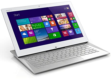 Sony VAIO Duo 13 - Ordenador portátil (Ultrabook, Color blanco, Convertible (Floating