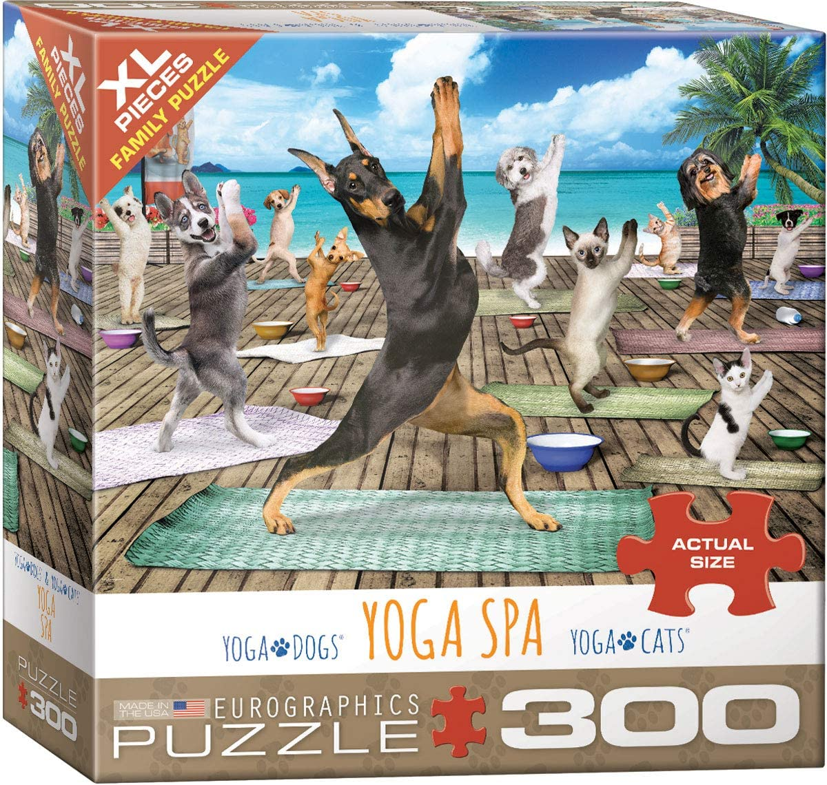 Amazon.com: Yoga Spa 300Piece Puzzle: Toys & Games
