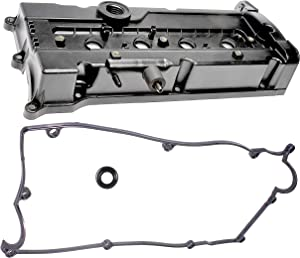 APDTY 028137 Valve Cover Assembly With Gasket & Spark Plug Tube Seal Fits 2001-2004 Hyundai Accent 1.6L 1997 Hyundai Accent 1.5L 2001-2004 Dodge Verna (Replaces 22410-26013, 22410-26610, 22410-26611)