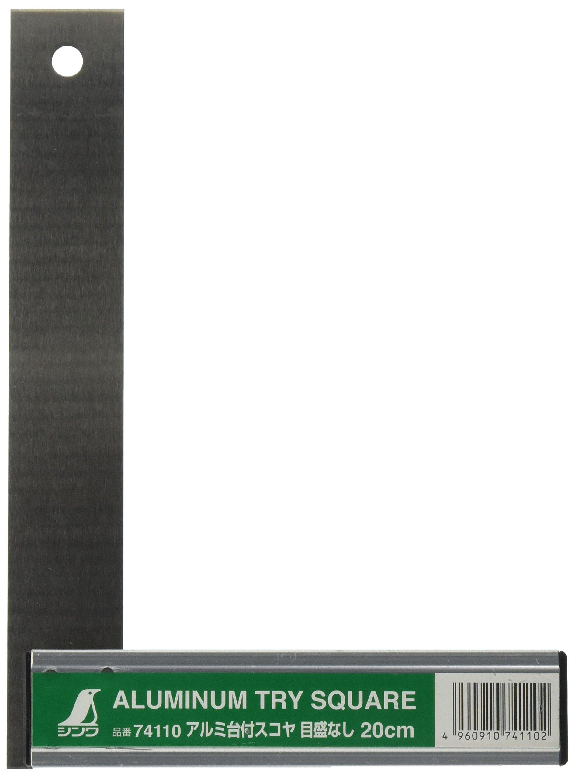 SINWA Shinwa measurement Aluminum base attachment Scoy 20 cm scale None 74110 4960910741102