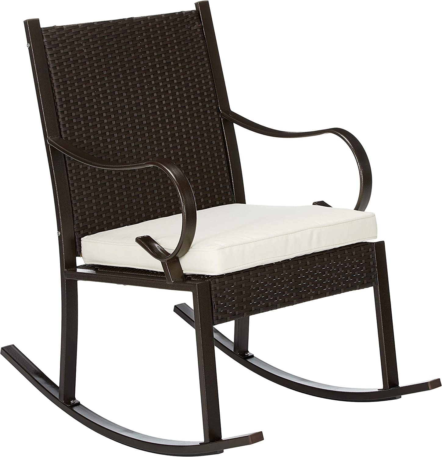 Christopher Knight Home Muriel Outdoor Wicker Rocking Chair