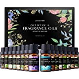 Lagunamoon Fragrance Oils Gift Set, Top 16 Premium Grade Fragrance Oils for Candle Making, Soap Making, Diffuser, Perfume, Ba