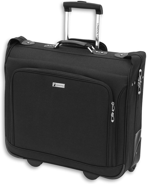 "London Fog Buckingham 44"" Wheeled Garment Bag, Black, One Size"