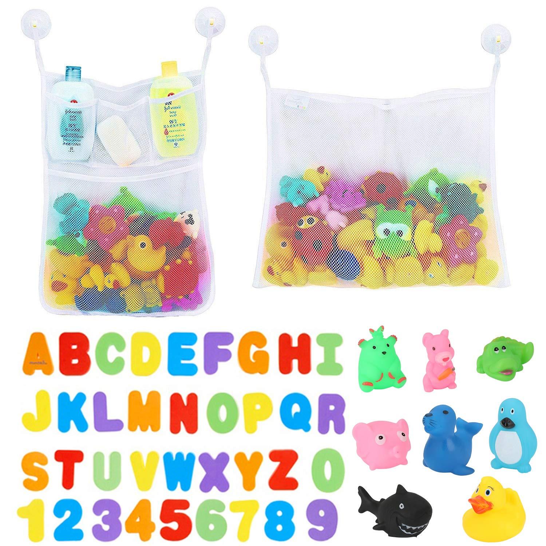Buchstaben Zahlen Spielzeug Baby für die Badewanne Pool Wasserspritzen