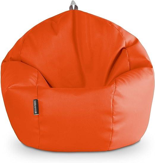 HAPPERS Puff Pelota 60cm diámetro (Naranja): Amazon.es: Hogar