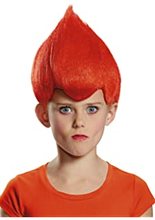 Disguise - Red Troll Child Wig