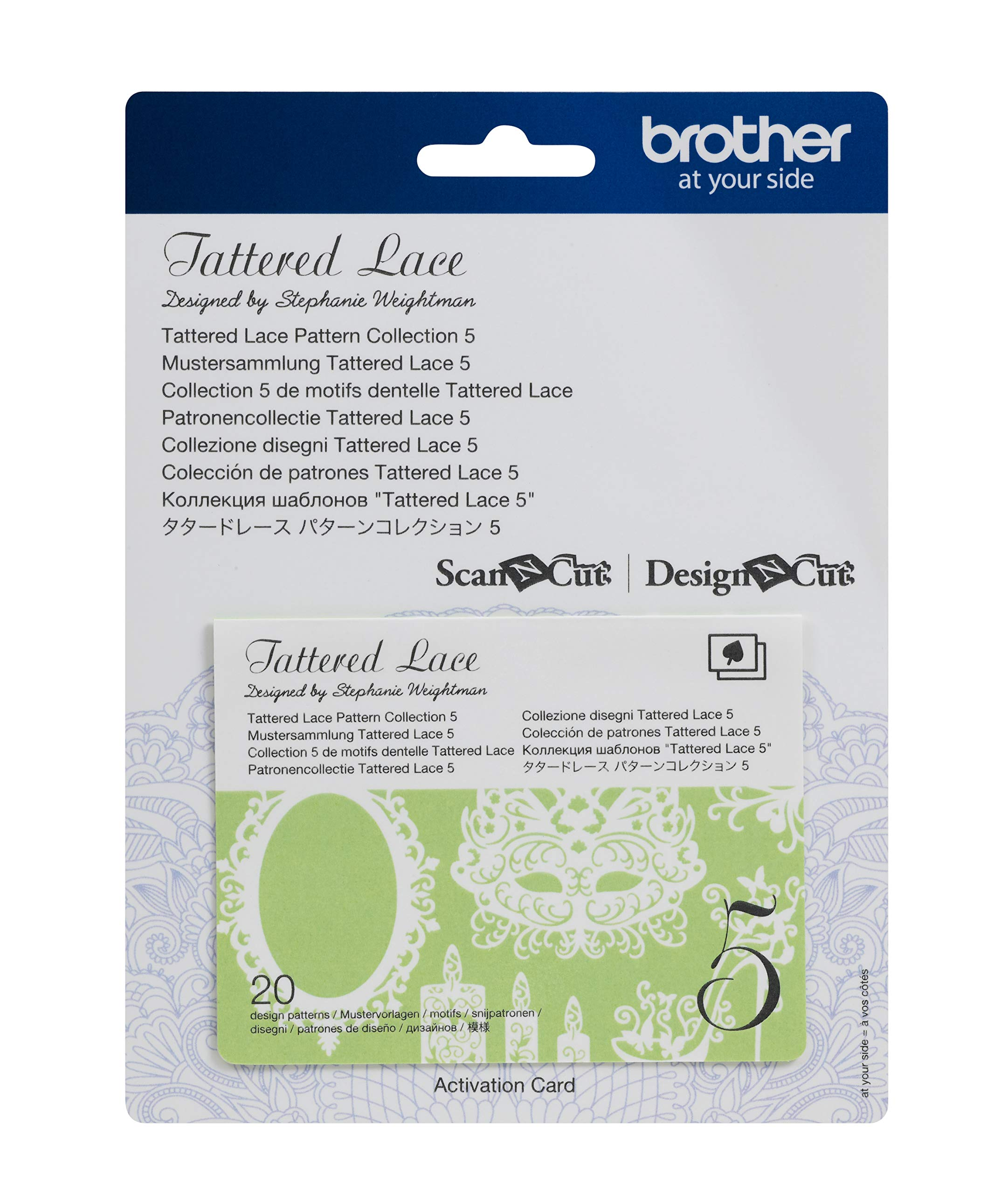 Brother CATTLP05 Tattered Lace Pattern Collection by Brother