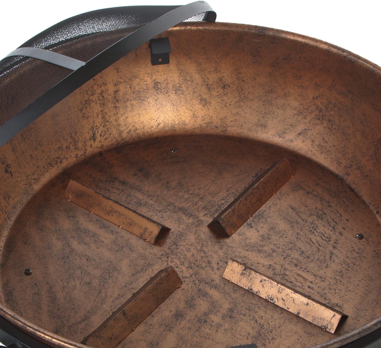 B00K6E41LO DeckMate 991049 Kay Home Product\'S Avondale Steel Fire Bowl, Copper Colored 71UdUYzGu8L.SL1500_