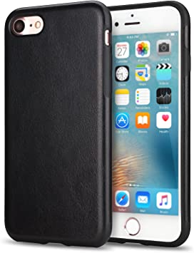 coque iphone 7 cuir noir