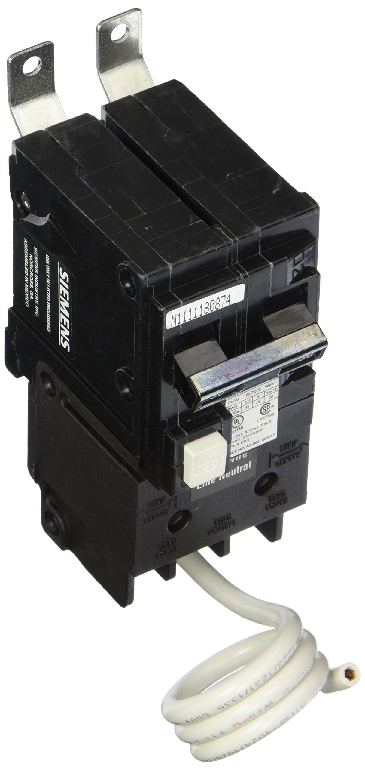 Siemens BF230H 30-Amp Double Pole 120 / 240-Volt 22KAIC Ground Fault Circuit interrupter
