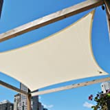 BOUYA 16' x 20' Sun Shade Sail for Backyard Deck