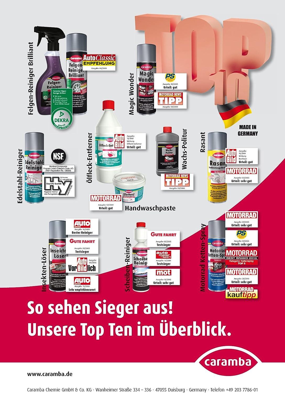 Caramba 61148401 Edelstahl Reiniger 400 Ml Auto