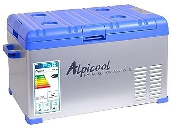 Auto Kühlschrank 12v Kompressor : Compass kühlbox mit kompressor l v °c blue