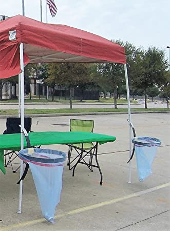 Hang N Out TOO Canopy Trash Bag Holder For Tailgating & Amazon.com: BRAND NEW TO AMAZON! Hang N Out TOO Canopy Trash Bag ...
