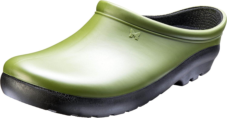 Sloggers Women's Premium Garden Clog, Cactus green, Size 7, Style 260CG07