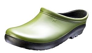 Sloggers Women's Premium Garden Clog, Cactus green, Size 9, Style 260CG09
