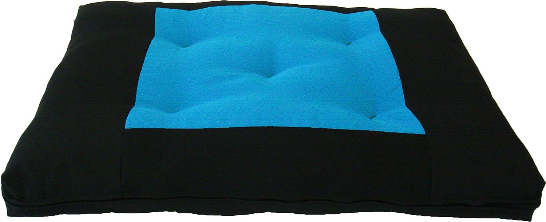 Amazon.com : D&D Futon Furniture Central Turquoise Zabuton ...