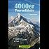 4000er Tourenführer: Die schönsten Viertausender Gipfel Touren in den Alpen, von Matterhorn bis Mont Blanc, incl. Karten zu jeder Tour