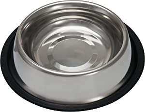 Loving Pets Standard No-Tip Dog Bowl, 96-Ounce