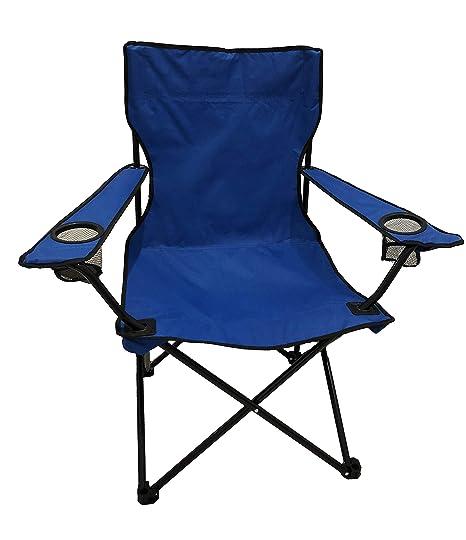 Homecall - Silla de camping (azul)