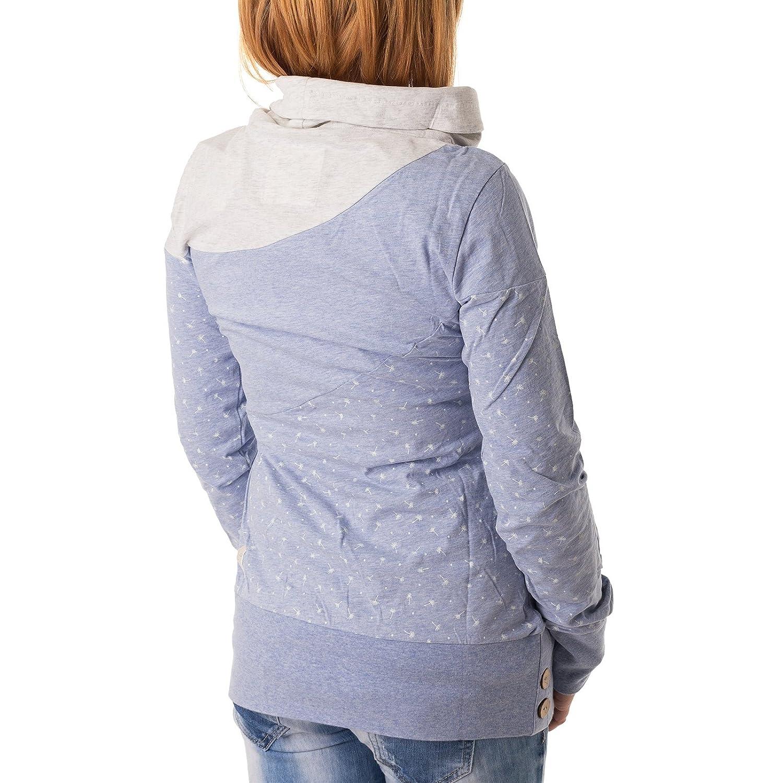 Sweatshirt Organic GrößeS Nest Block Ragwear FarbeLight Blue qSVMpUzG