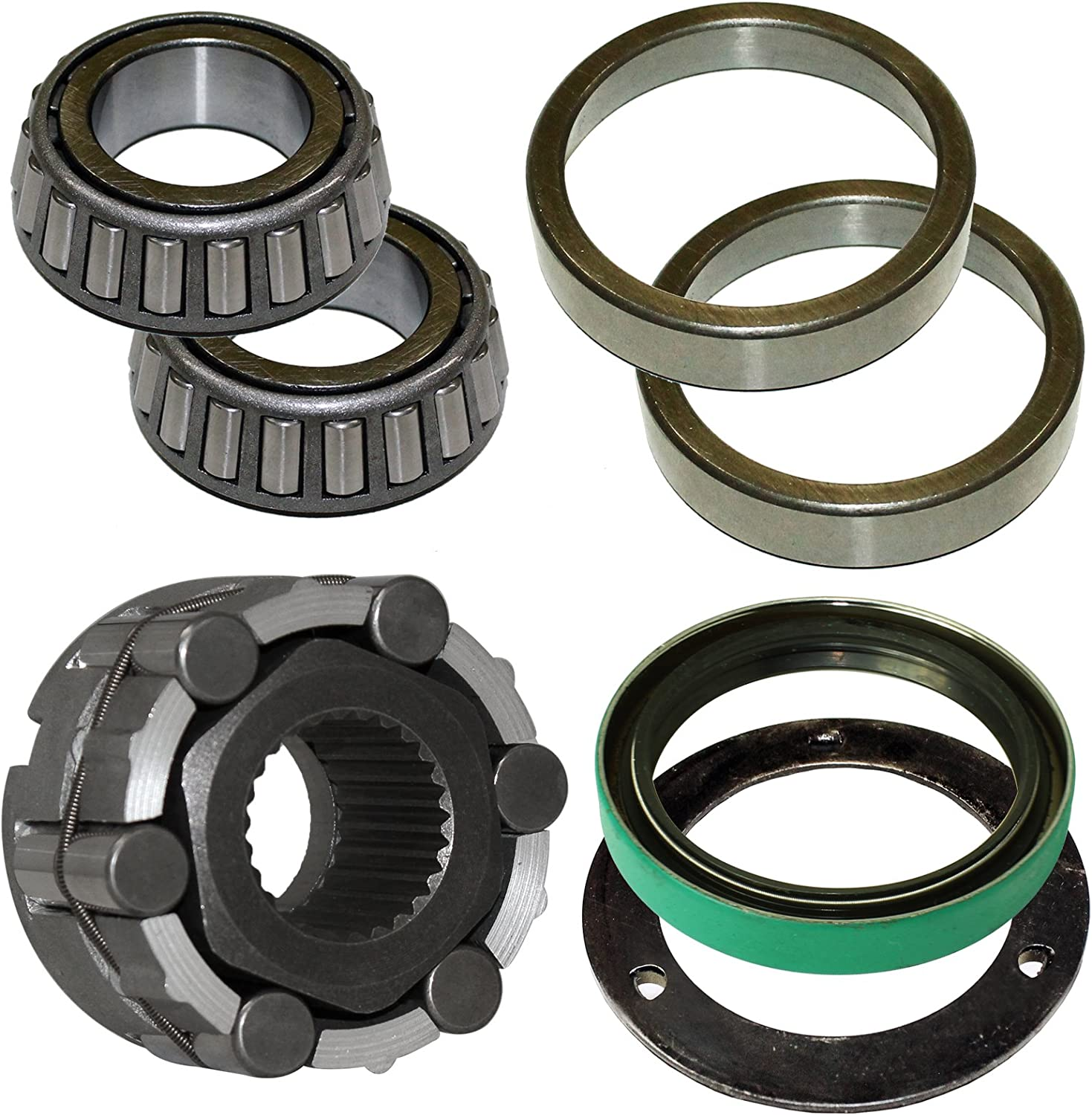 Polaris Sportsman 500 4x4 Duse 2001-2002 Both Front Wheel Bearings And Seals