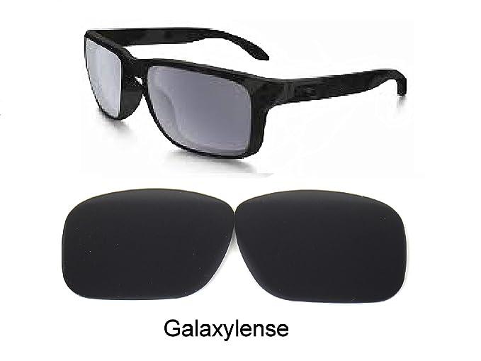Galaxy Lentes De Repuesto Para Oakley PLATA Gafas De Sol Negro Polarizado - Negro, Regular