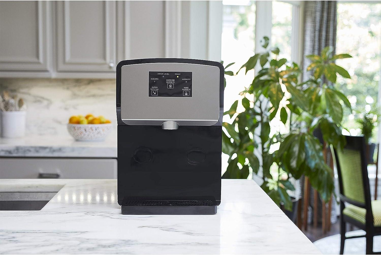KBice Portable Self Dispensing Countertop Nugget Ice Maker