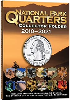 national park coin single mint folder 2010 2021