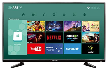 bace3a09546 Image Unavailable. Image not available for. Colour  Kevin 102 cm (40  Inches) Full HD LED Smart TV ...