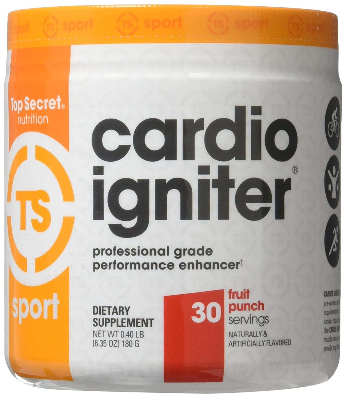 7. Top Secret Nutrition Cardio Igniter Fruit Punch