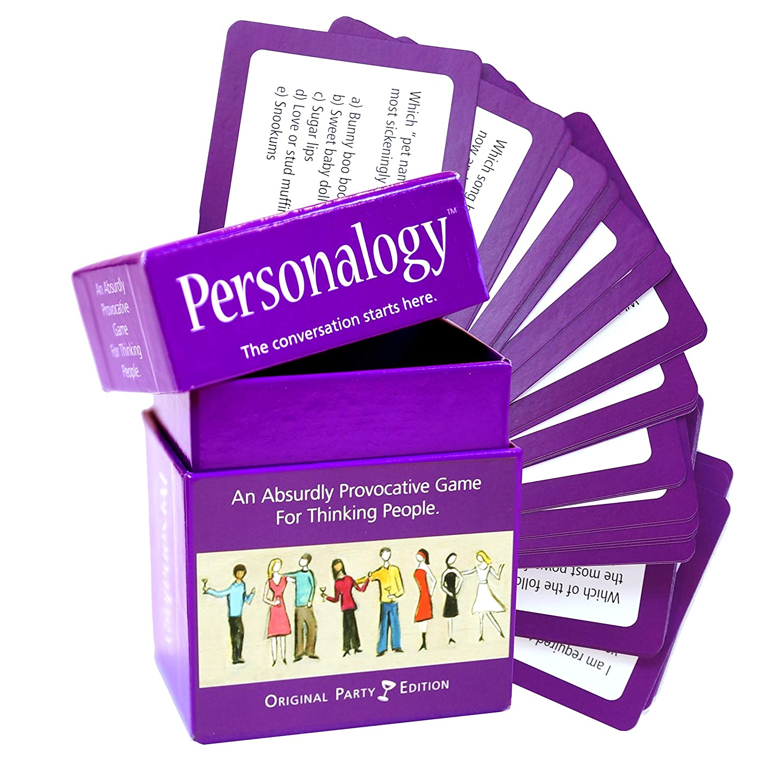 Amazon Continuum Games CG0317 Cg0317 Personalogy An Absurdly