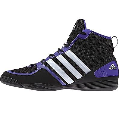 Adidas BoxFit 3 hombres botas de Boxeo (Reino Unido, coreblackwhite zapato