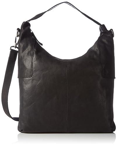 Sansibar Sacs portés épaule femmeNoirNoir, 36x41x10 cm (B x H x T)