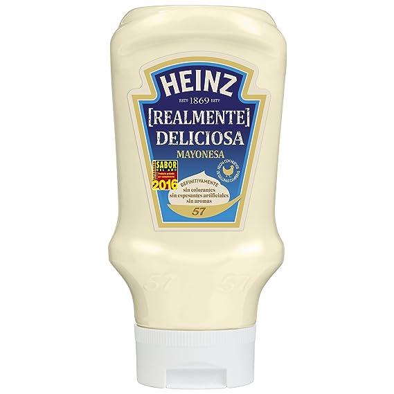 Heinz Top Down Mayonesa - 400 ml - [Pack de 5]