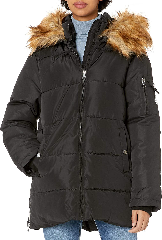 Madden Girl womens Nylon Puffer Jacket