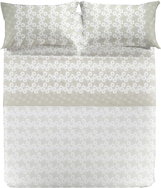 Caleffi - Juego Completo de sábanas de Matrimonio de Puro algodón ...